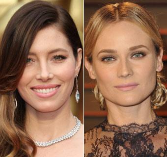 Jessica Biel y Diane Kruger, dos 'looks' de alfombra roja paso a paso