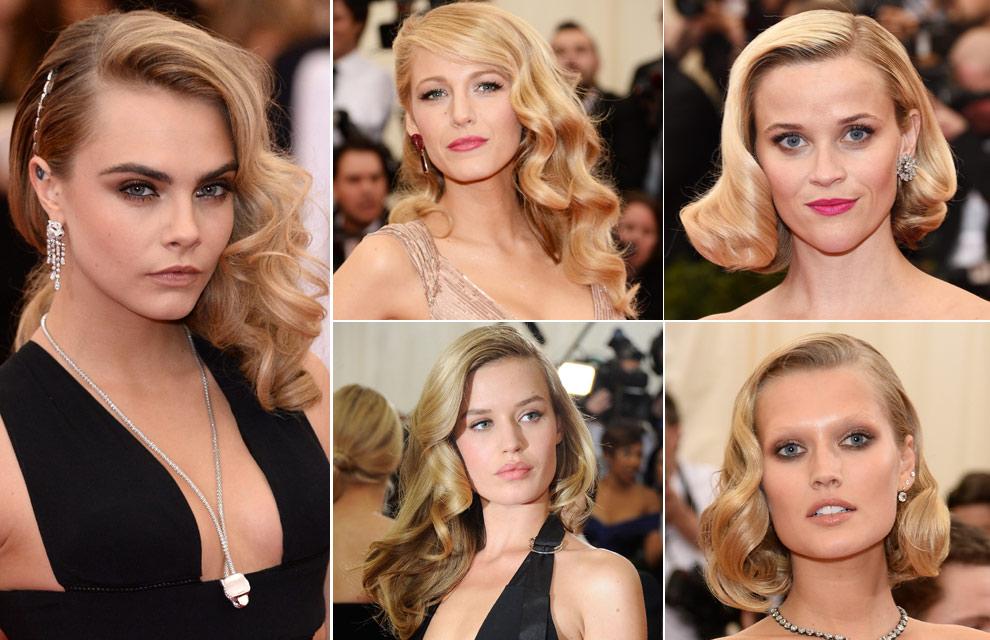 Ondas 'retro', labios rojos, recogidos clásicos... ¿Quiénes fueron las más guapas de la gala Met Ball?