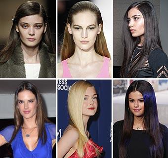 Se lleva: El pelo 'extraliso' te conquistará este otoño-invierno 2014-2015