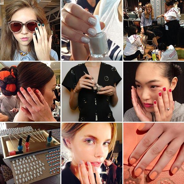 Espiamos las manicuras de la 'New York Fashion Week'
