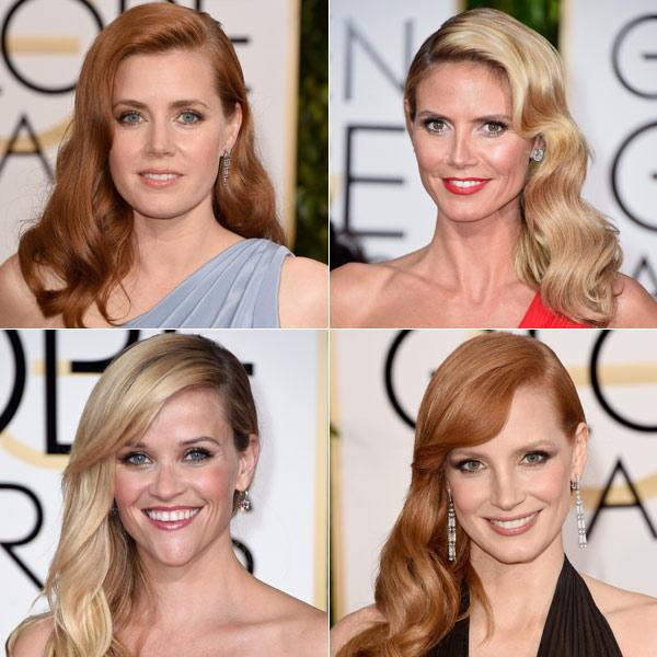 Globos de Oro 2015: 10 detalles 'beauty'