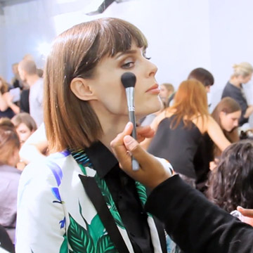En exclusiva: nos colamos en el 'backstage' de Roberto Cavalli y fichamos su propuesta 'beauty'