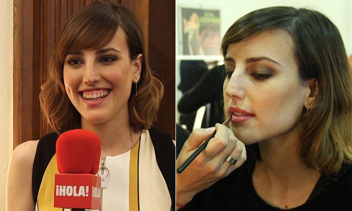 Compartimos una sesión 'beauty' con Natalia de Molina, la actriz española del momento