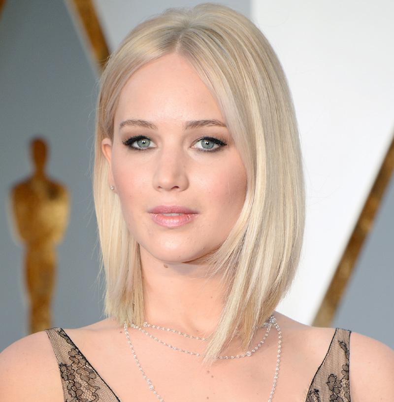 Jennifer Lawrence y otras 'ice blonde girls' de moda