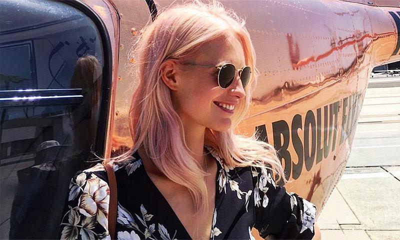 Poppy Delevingne, la última en sumarse a la 'pink obsession'