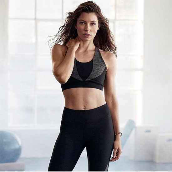 'Couple workout', la tendencia con la que Jessica Biel ... джессика бил