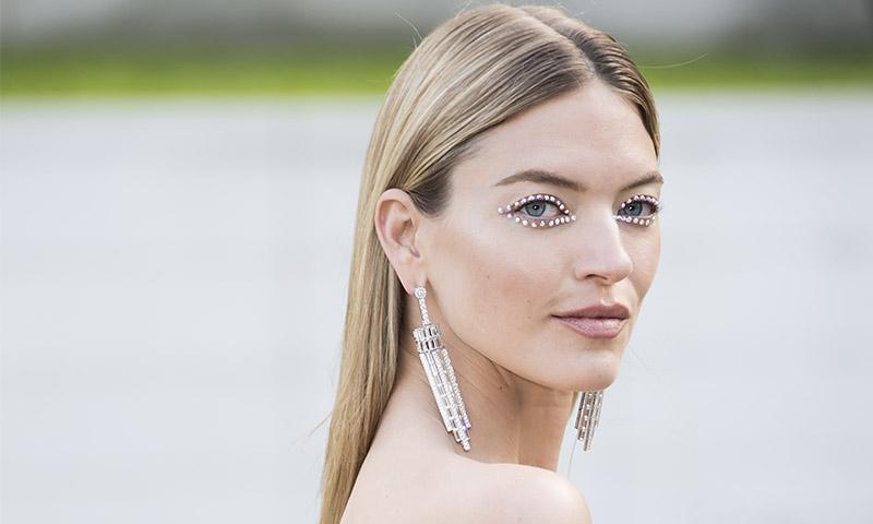 Maquillaje de ojos 3D brillante, ¿el nuevo 'smokey eye'?