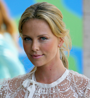 Charlize Theron. Notic...