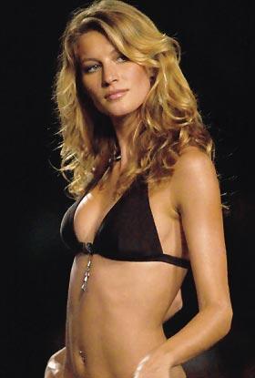 Ver listado de modelos Gisele Bundchen