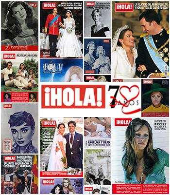 70 años de la revista ¡HOLA!