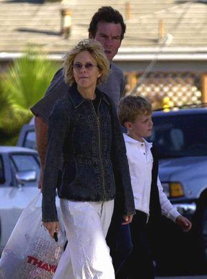 Meg Ryan y Dennis Quaid, de nuevo unidos por su hijo, Jack