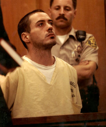 Robert Downey Junior, arrestado tres meses después de salir de la cárcel