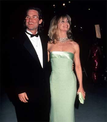 Kurt Russell y Goldie Hawn, muy cerca del altar