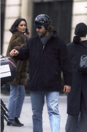 Russell Crowe llega a Madrid para presentar su última película 'Proof of Life'