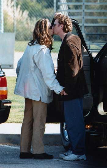 Primera aparición en público de Brooke Shields y Chris Henchy tras su boda