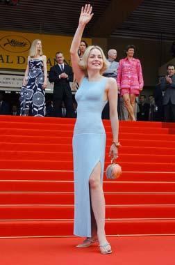 Sharon Stone derrocha belleza y encanto en Cannes