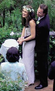 Brooke Shields está esperando su primer hijo