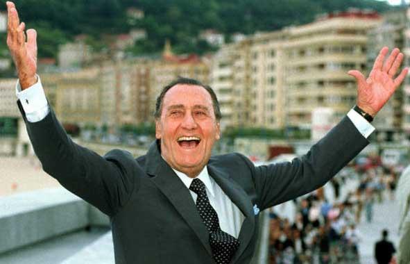 Adiós a Alberto Sordi, el rey de la comedia italiana