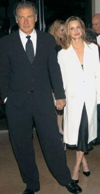 Harrison Ford y Calista Flockhart, cada día más felices y enamorados
