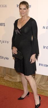 Brooke Shields, radiante en la recta final de su embarazo