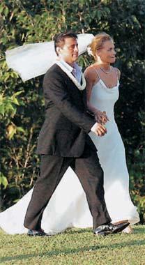 La romántica boda en Hawai de Matt LeBlanc, el famoso intérprete de la serie 'Friends'