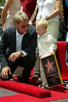 Harrison Ford consigue su estrella en el Paseo de La Fama