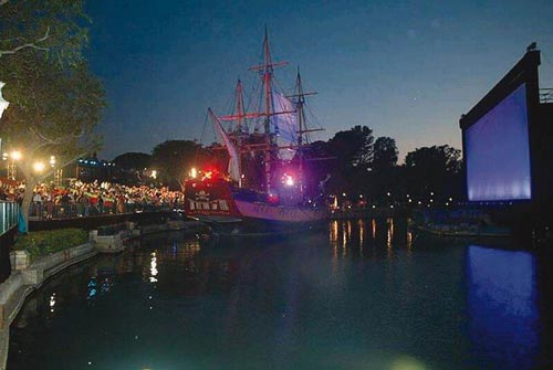Los piratas del Caribe invadieron Londres