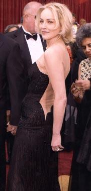 Sharon Stone, protagonista de uno de los besos más caros de la historia