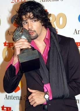 Los premios de la televisión se visten de oro