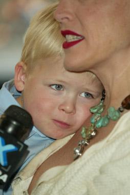 Roan Joseph, el 'pequeño Buda' de Sharon Stone