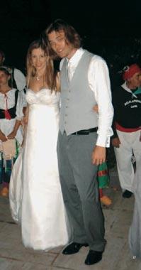 Las fotografías de la boda de Mira Sorvino y Chris Backus en la isla de Capri