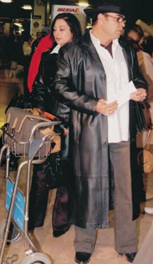 Penélope Cruz y su padre, momentos de angustia cuando volaban desde Los Ángeles a Durango