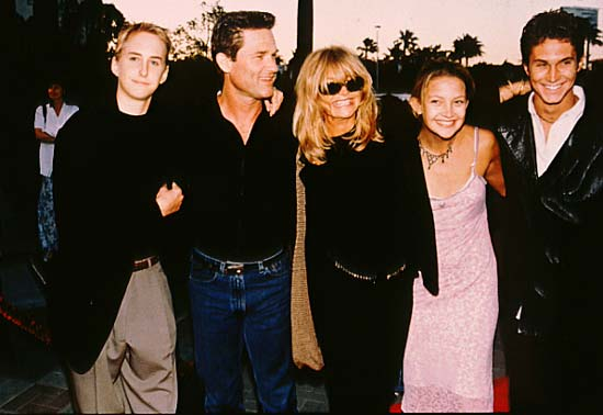 Goldie Hawn y Kurt Russell se separan tras 21 años de unión