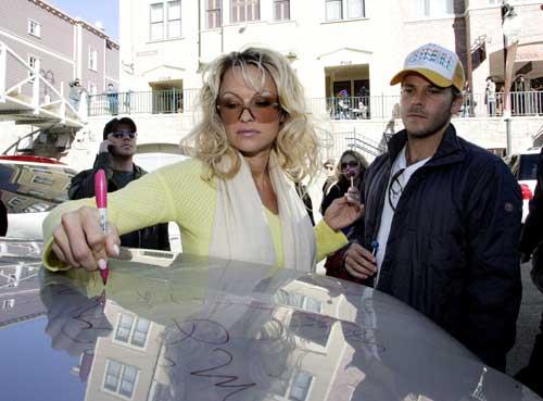 Pamela Anderson y Stephen Dorff, juntos en el Festival de Sundance