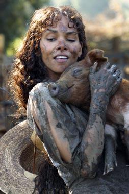 Una granjera llamada Halle Berry