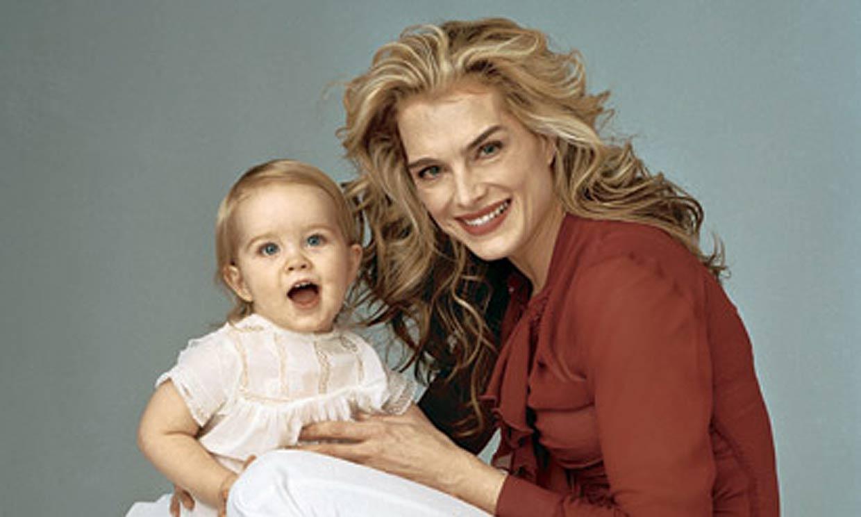Brooke Shields posa feliz con su hija Rowan