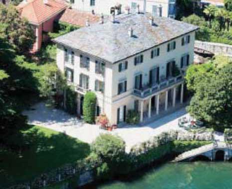 George clooney abre las puertas de su villa italiana en el for Villa italia modelos