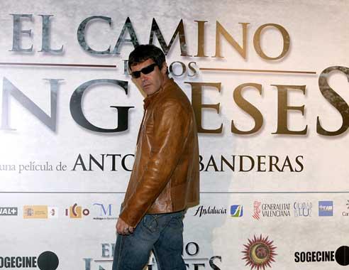 Antonio Banderas inicia el rodaje de 'El camino de los ingleses'