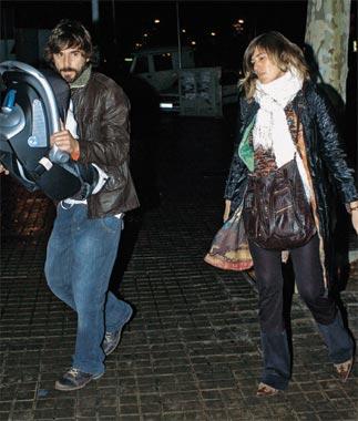 Santi Millán ha tenido su primer hijo con su novia, Rosa Olucha