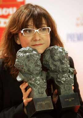 Antonio Banderas derrocha profesionalidad en los Goya 2006