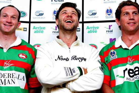 Russell Crowe compra un equipo de rugby