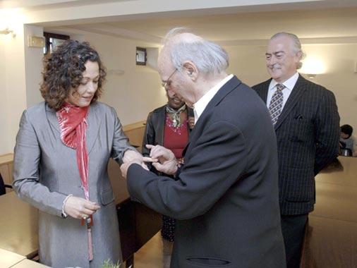 Carlos Saura y Eulalia Ramón se han casado