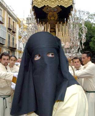 Antonio Banderas, mayordomo de la Virgen en Málaga