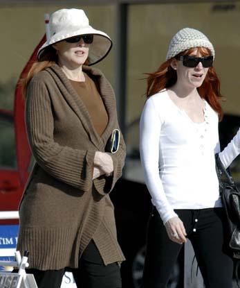 Marcia Cross ya luce su embarazo por partida doble