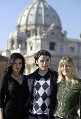 Keisha Castle-Hughes, embarazada a los 16 años, gran ausente en el estreno de 'Natividad' en el Vaticano