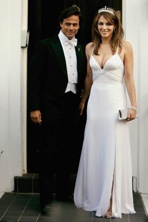 Todos los detalles de la boda de ensueño de Elizabeth Hurley y Arun Nayar