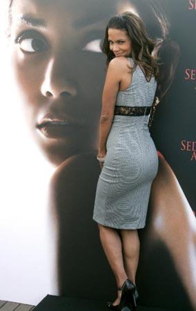 Una bella y seductora Halle Berry presenta en Madrid su nueva película