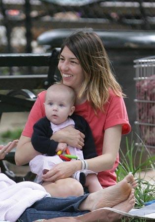 Primeras imágenes de Sofia Coppola con su hija Romy