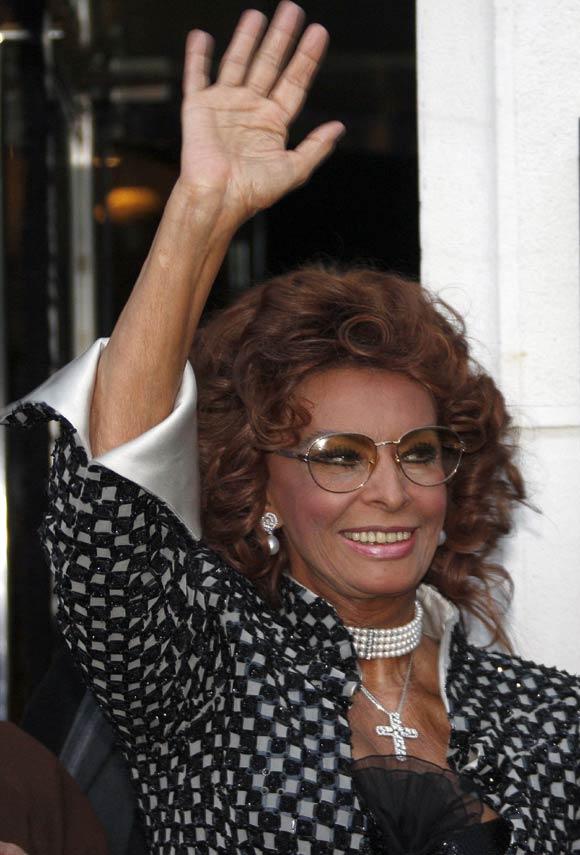 Sofía Loren: 'Penélope Cruz tiene que seguir siendo ella misma'