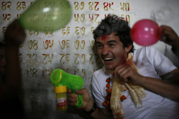 El inolvidable viaje de Orlando Bloom a Nepal